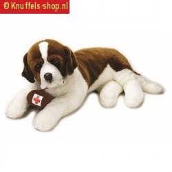 Grote sint bernard honden knuffel 95 cm