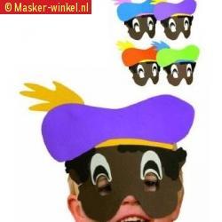 Kinder maskers zwarte piet