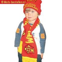 Kinder sjaal en muts sinterklaas