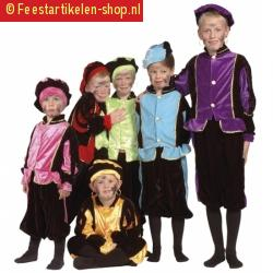 Luxe zwarte pieten outfit voor kinderen 10036026