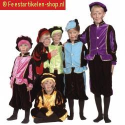 Luxe zwarte pieten outfit voor kinderen 10036513
