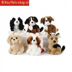 Sint bernard honden knuffel 18 cm