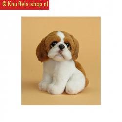 Sint bernard knuffel hond 13 cm