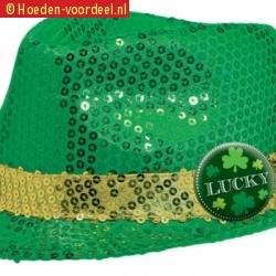 Sint patricks day groen hoedje