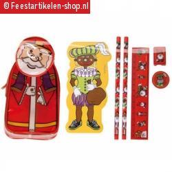 Sinterklaas en zwarte piet etui