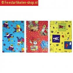 Sinterklaas folie inpakpapier 1 rol