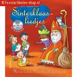 Sinterklaas liedjesboek met cd