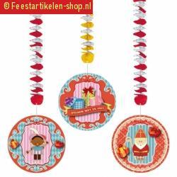Sinterklaas rotorspiralen sint 3 stuks