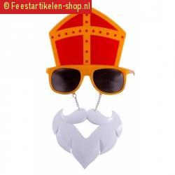 Sinterklaas vermomming bril