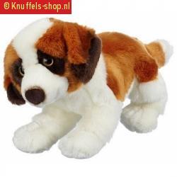 Zittende sint bernard hond knuffeldier 10055998