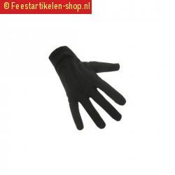 Zwarte pieten handschoenen kort